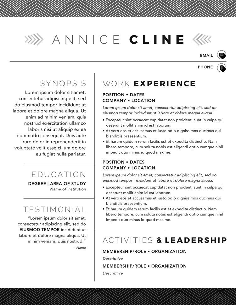 Annice Cline Resume Template
