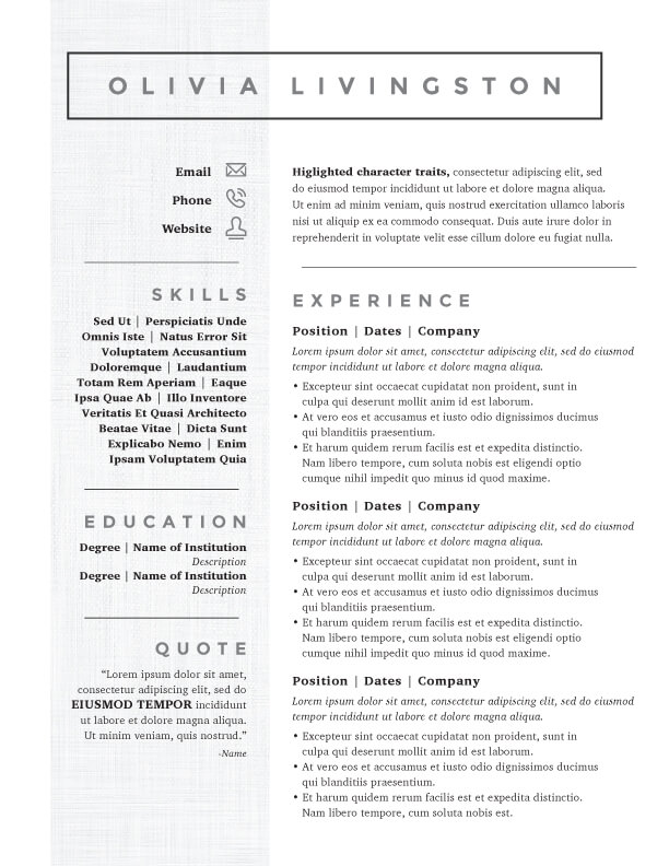 naomi starseed resume template victor strauss resume template nebula craig resume template christopher - Resume Templats